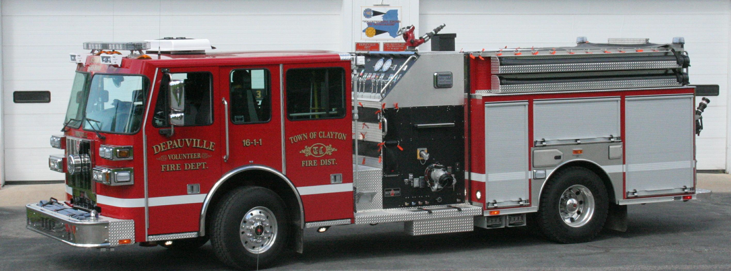 Depauville VFD - 80 Years of Service
